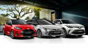 Toyota com nova campanha de híbridos para facilitar a compra de carro em casa ...