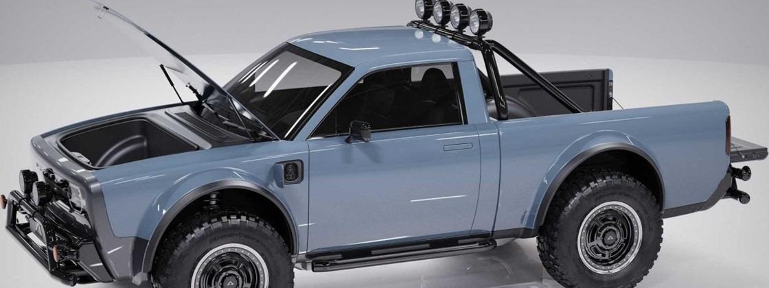 Alpha Motor revela pickup elétrica 'barata' e com visual retro ...